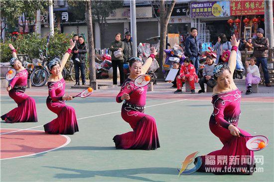 山前:迎新春庆元宵 柔力球健身操展示大会