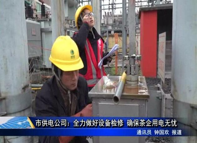 市供电公司:全力做好设备检修 确保茶企用电无忧