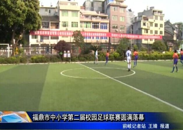 福鼎市中小学第二届校园足球联赛圆满落幕