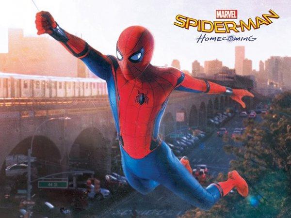 电影《蜘蛛侠:英雄归来》曝成长版预告海报
