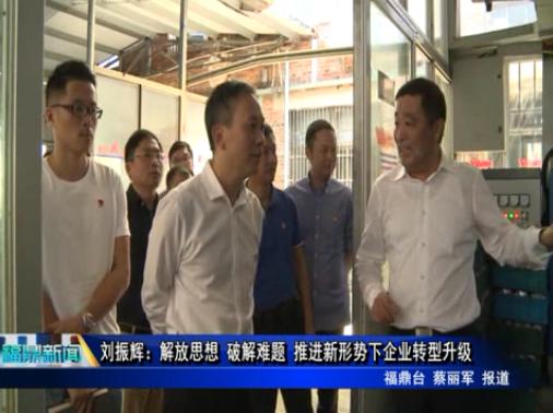 刘振辉:解放思想 破解难题 推进新形势下企业转型升级