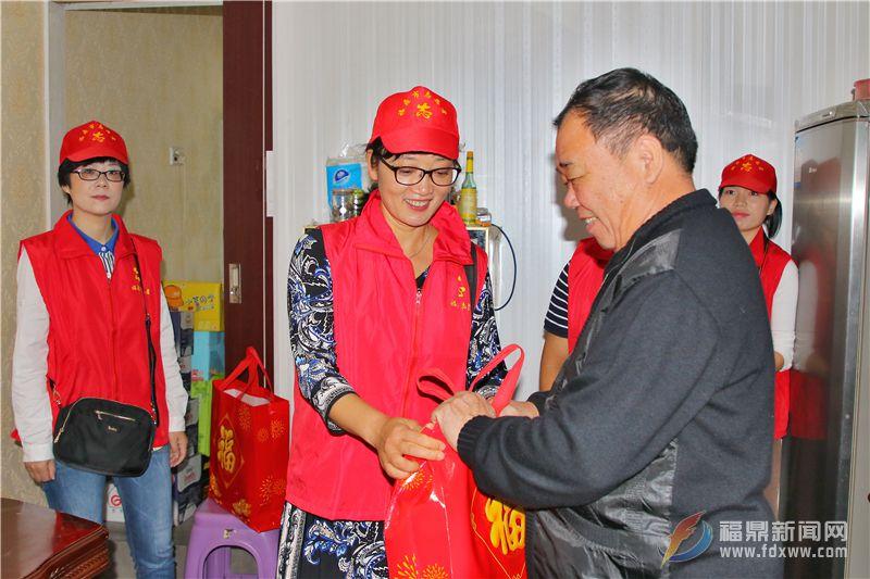 山前社区举办重阳节志愿者进社区活动