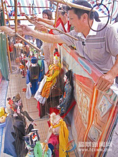 福鼎文化遗产的海丝印记之二十四——七条线木偶戏