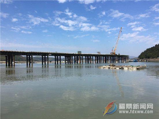 白琳镇跨海大桥A3标段工程建设全面推进