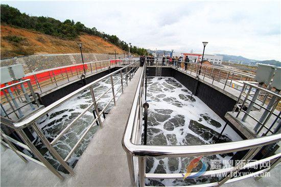 双岳污水处理厂正式通水运行