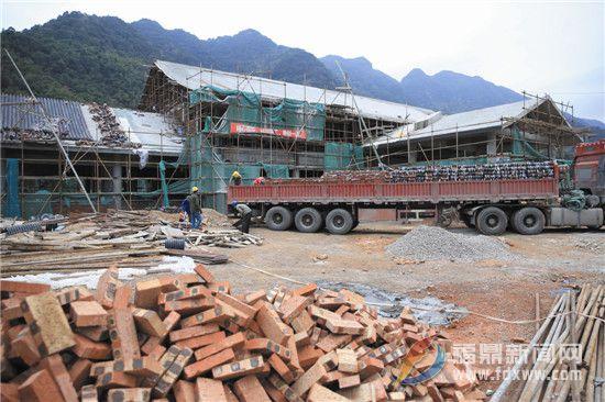赤溪村旅游集散中心建设如火如荼 预计今年5月1日前可投入使用