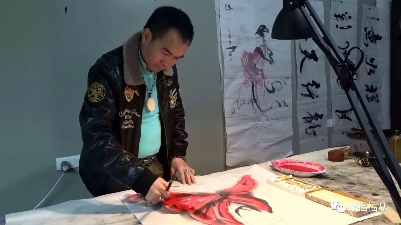 福鼎籍书画家泓森获2017中国收藏价值书画艺术家殊荣