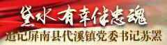 屏南县代溪镇党委书记苏罴