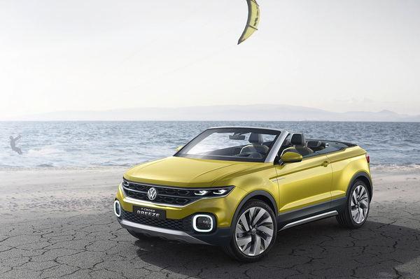 T-Roc cabrio来袭 大众计划2020年推出首款敞篷SUV