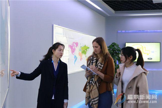 美国驻广州总领馆领事白佳丽莅鼎调研