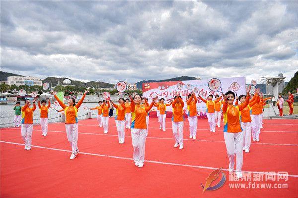 山前社区:欢歌热舞庆三八