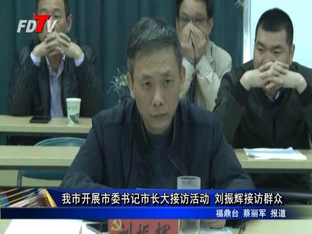 我市开展市委书记市长大接访活动 刘振辉接访群众
