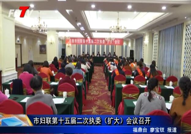 市妇联第十五届二次执委(扩大)会议召开