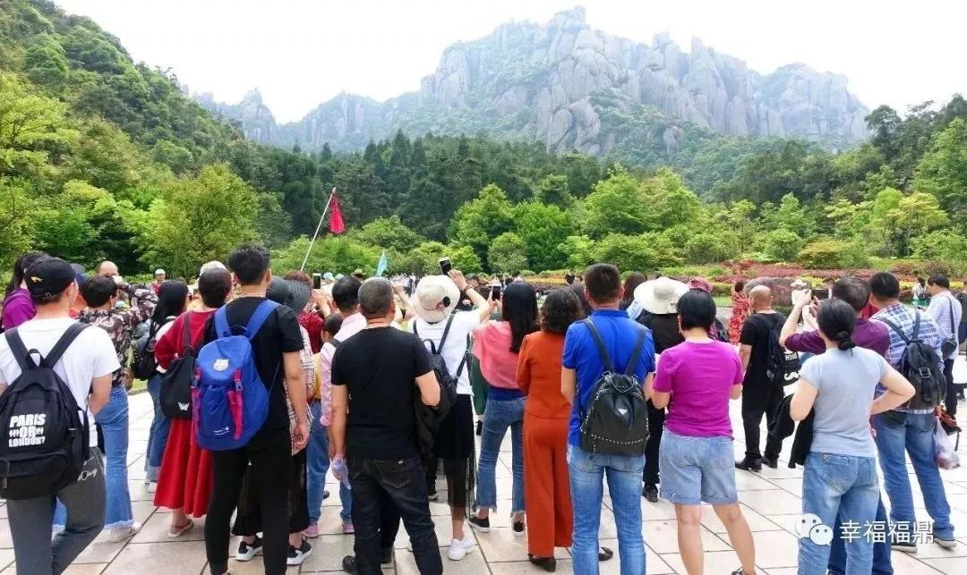 接待游客10.73万人次,这个五一,福鼎旅游收入5932.82万元
