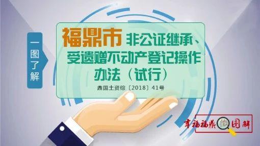 福鼎人继承、受遗赠不动产登记不需要公证了,操作要点快接住