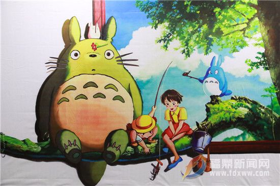4D立体童画展带你找回童年