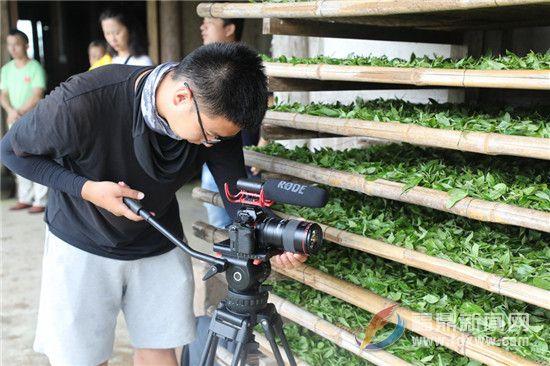 央视《中国农村改革四十年》栏目组来到福鼎采访拍摄