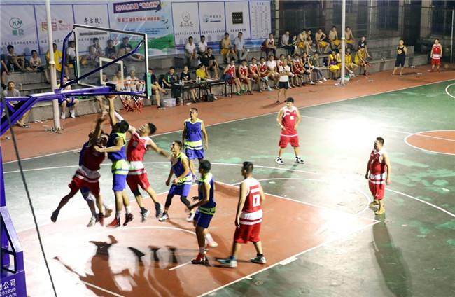 点头镇举办篮球邀请赛 丰富盛夏农村群众文化生活