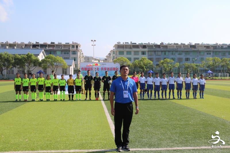 省运会青少年足球女甲组第三轮比赛结束,厦门队7:0胜泉州队