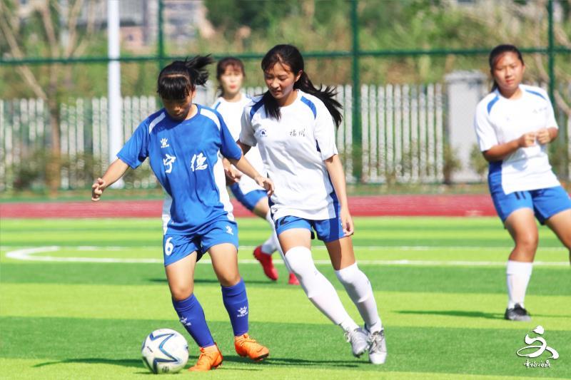 省运会青少年足球女甲组第三轮比赛结束,宁德队6:0胜福州队
