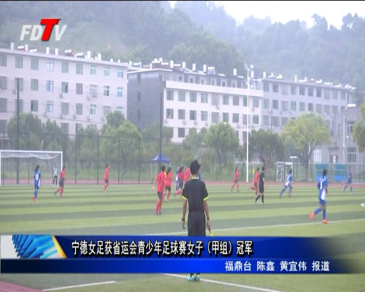 省运会青少年足球赛(甲组)赛落下帷幕