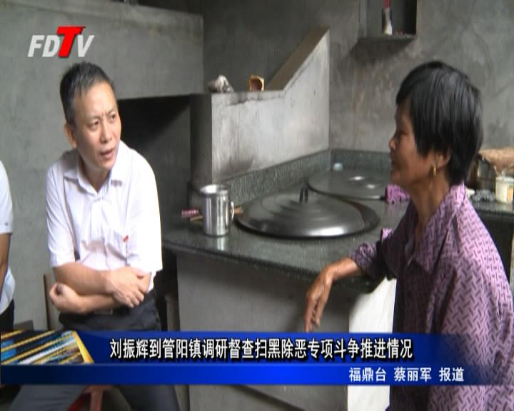 刘振辉到管阳镇调研督查扫黑除恶专项斗争推进情况