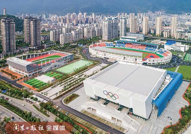 宁德市体育中央:中央城区地标性修建 改革提拔欢迎省运会