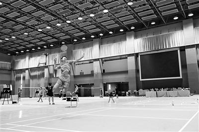 宁德羽毛球代表队:奋力挥拍 力创佳绩