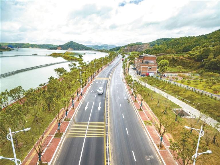 福鼎:三级路网修筑交通生长新格式