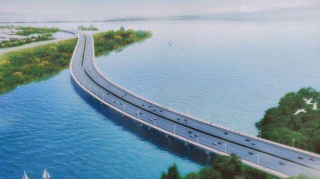 """七都溪特大桥完成栈桥建设 上汽宁德基地""""生命线""""明年9月实现通车"""