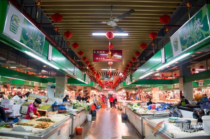桐山中央农贸市场摊位及店面将公然拍租