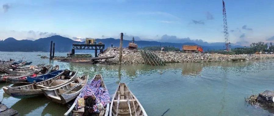 滨海小道二期项目颔首段红线内门路工程基本领悟