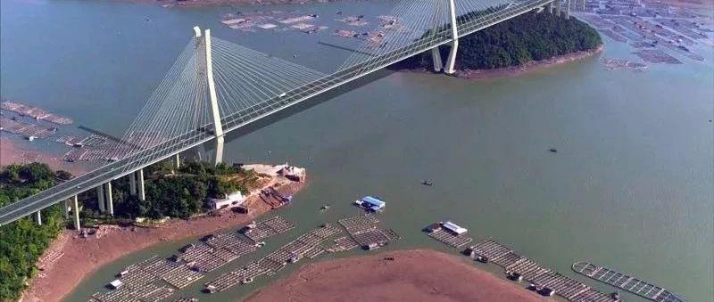沙埕湾跨海大桥建设稳步推进,最新建设情况看这里~(附效果图)