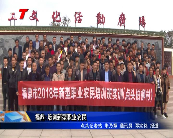 福鼎:培训新型职业农民