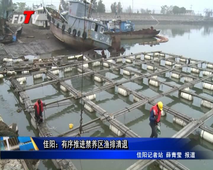 佳阳:有序推进禁养区渔排清退