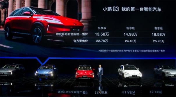 小鹏G3:为智能汽车市场注入新生机