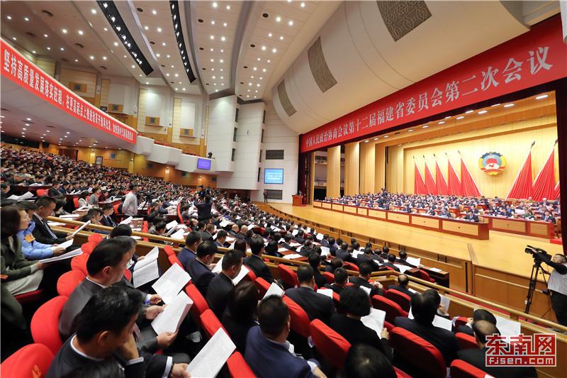 省政协十二届二次集会解散 崔玉英掌管并发言