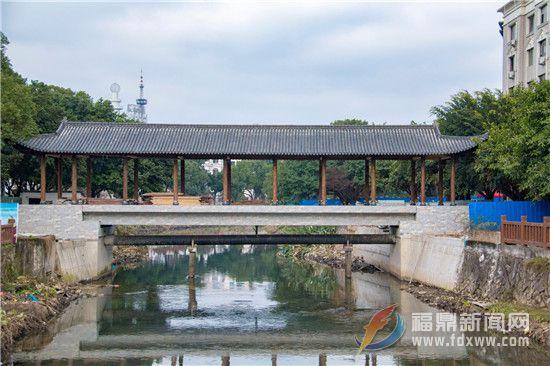 福鼎郊区第一座廊桥将于春节前竣工