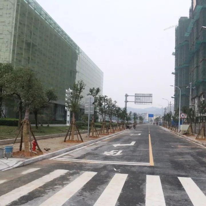 春节前夜,福鼎这几条门路相继建成,快来瞧一下