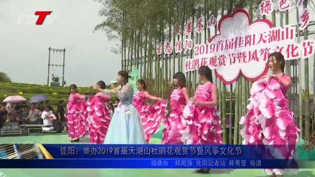 佳阳:举办2019首届天湖山杜鹃花观赏节暨风筝文化节