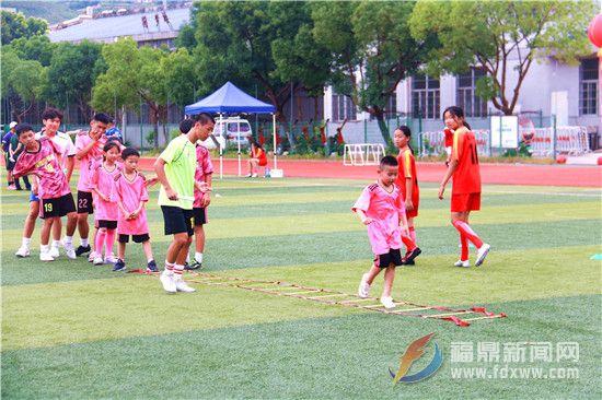 """前岐:""""营动福建""""2019年全国青少年体育冬夏令营足球活动"""