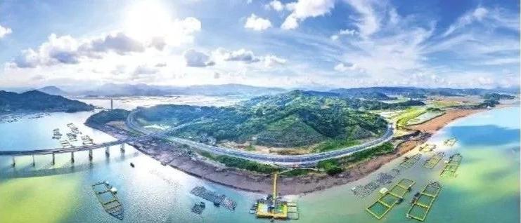 七月如火,鼎盛钢铁、沙埕湾高速公路、福鼎城市路网项目建设更火热