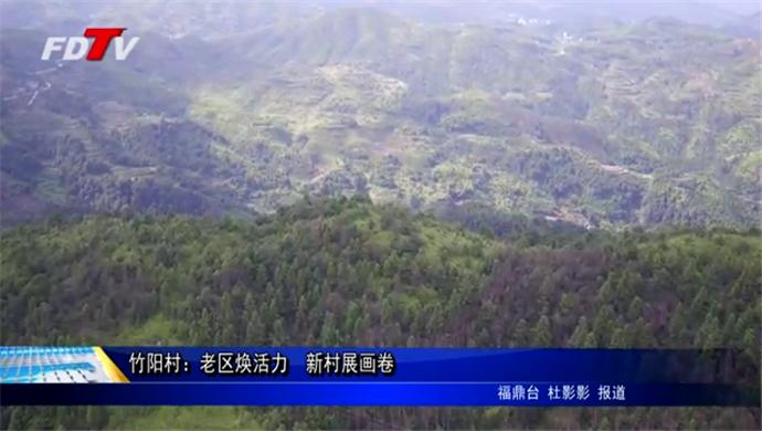 竹阳村:老区焕活力 新村展画卷