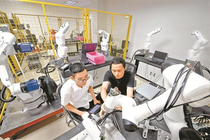深圳机器人欲借5G再发力