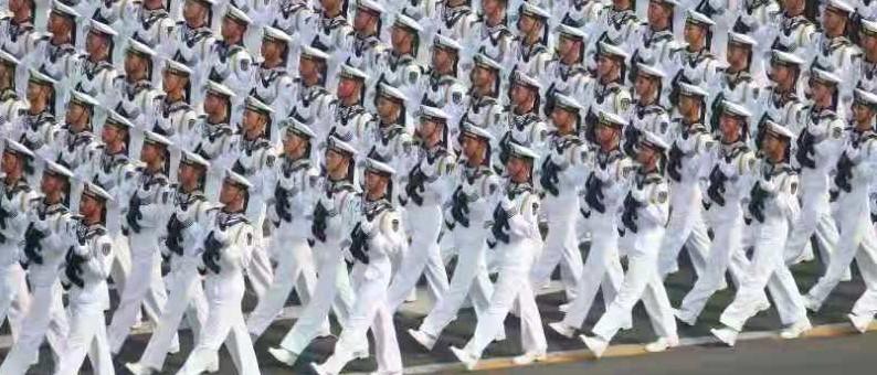 福鼎人的骄傲!5位福鼎籍小伙子,现身国庆阅兵式海军徒步方队!