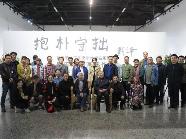 回归生活,抱朴守拙,福鼎艺术家韩安民油画新作展在京开幕