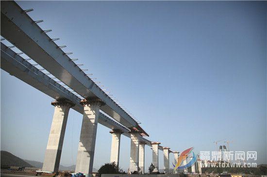 沙埕湾跨海公路通道建设加速推进