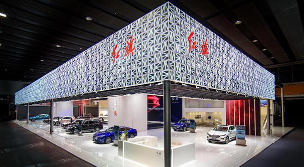 闪耀活力之势,新红旗品牌携家族车型登陆2019广州车展