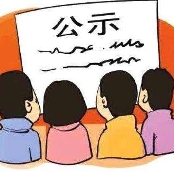 围观~福鼎市级各类文明先进拟推荐候选名单公示