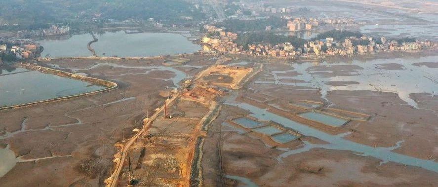 滨海大道二期工程总量已完成过半